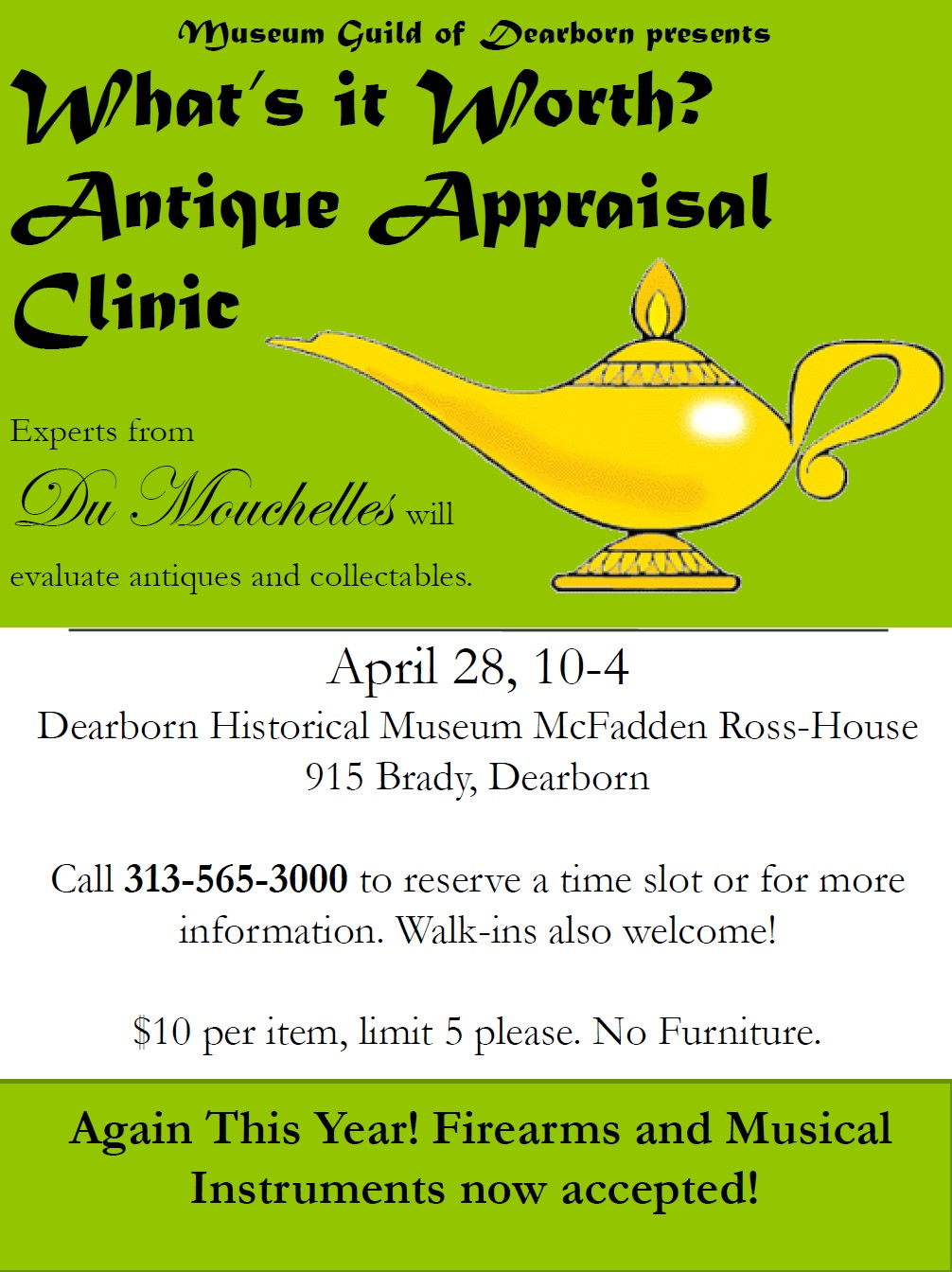 Antique Appraisal Clinic 2018